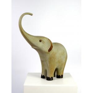 Large Ceramic Elephant by...