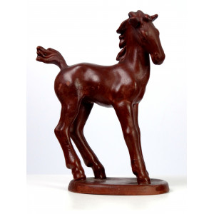 Ceramic Foal by Hertwig...