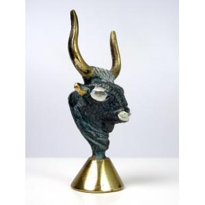 Brass Minoan Bull Head
