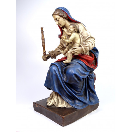 19th Century Statue of Virgin Mary