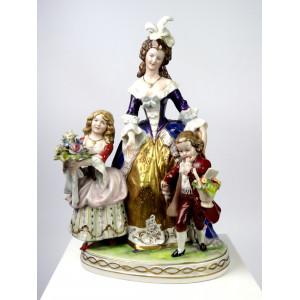Porcelain Baroque Mother...