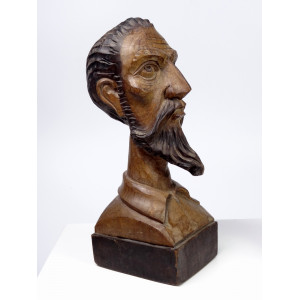 Busts of Don Quixote and...