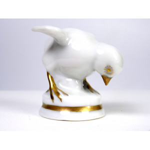 Art Deco Porcelain Chick by...