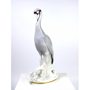 Antique Heron Figurine by...