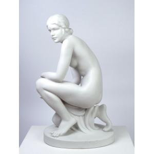 Kneeling Nude Figurine