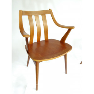 Pair of Mid-Century Teak...