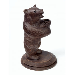 Black Forest Wooden Bear