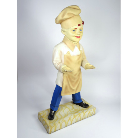 Large Baker Boy Model / Statue