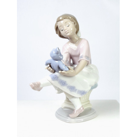 Lladro Figurine 7620 Best Friend