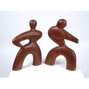 Mid-Century Teak Dancing...