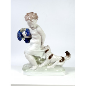 Art Deco Figurine 'Caught',...