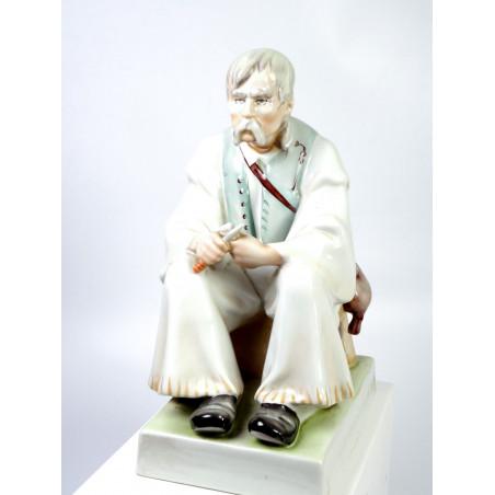 Peasant Figurine, Zsolnay