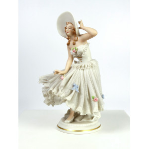 Porcelain Lace Figurine by...