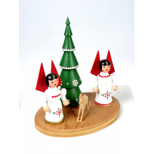 Christmas Figural Group,...