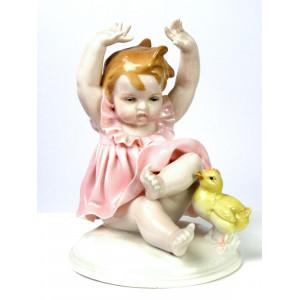 'Oh Schreck' Girl Figurine...