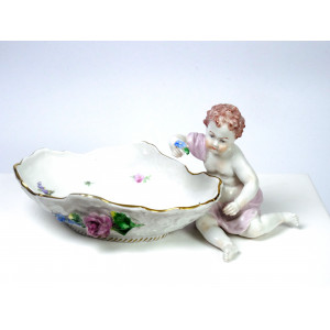 Bowl with Putti by Carl...