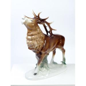 Roaring Deer, Carl Scheidig...