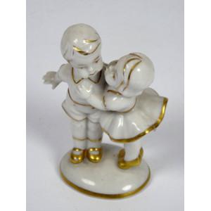 Antique Porcelain Figure by...