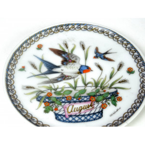 Ole Winther Month Plate by...