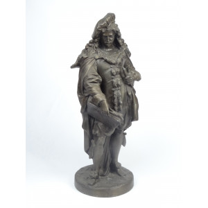 Antique Spelter Rembrandt...