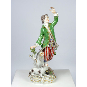 Dancing Shepherd by Meissen