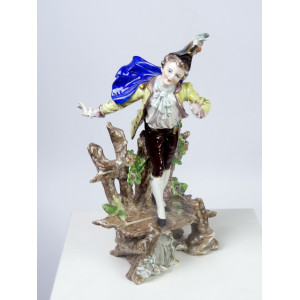 Porcelain Baroque Man,...