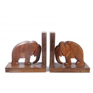 Vintage Wooden Elephant...