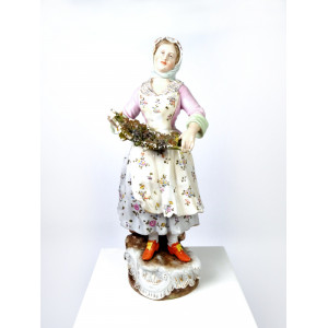 Porcelain Figurine by...