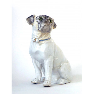 Antique Pug Dog
