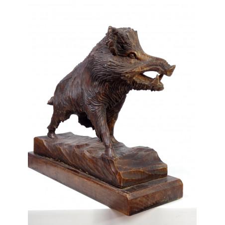 Vintage Black Forest Wild Boar