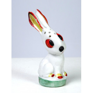 Art Deco Rabbit Salt Shaker