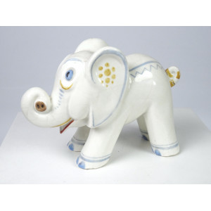 Art Deco Elephant by Erphila