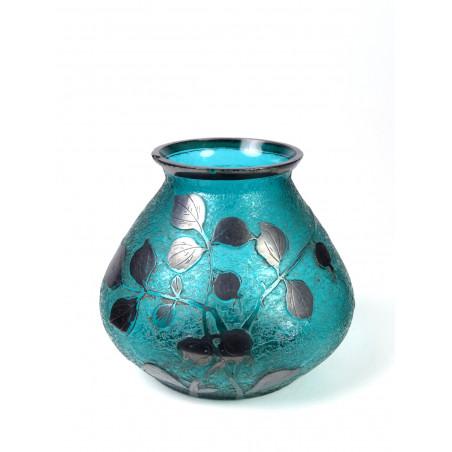 Art Nouveau Vase in Loetz style