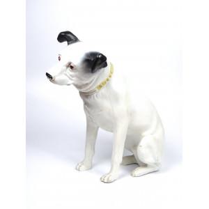 Vintage Nipper Dog Statue