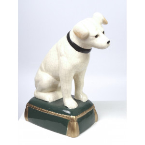 Pair of Nipper Dog Figures