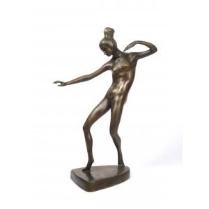Art Deco Bronze Nude by...
