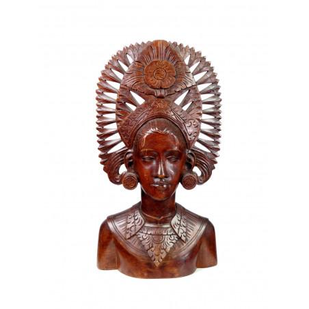 Balinese Bust Sculpture