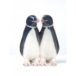 Two Penguins Kissing, Royal...