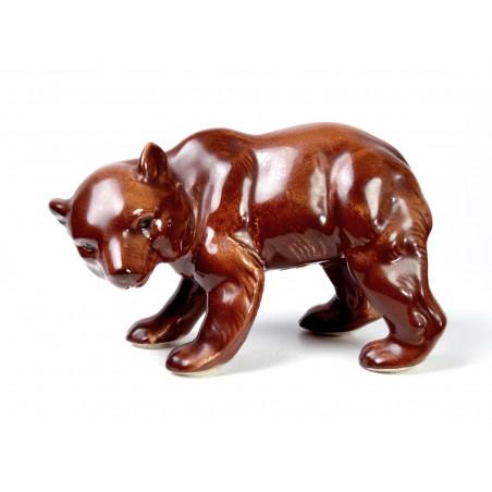Bear Figurine, GDR Germany