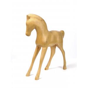 Vintage Wooden Foal