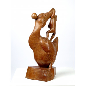 Art Deco Balinese Duck With...