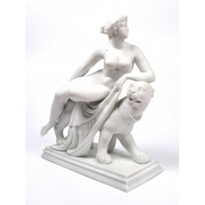 Large Parian Ware 'Ariadne...
