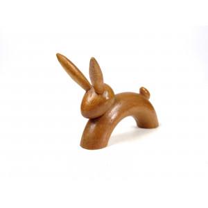 Mid-Century Wooden Hare