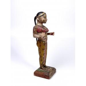 Antique Gangaur Statue, India