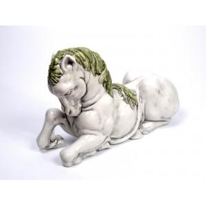 Italian Majolica Horse Figure