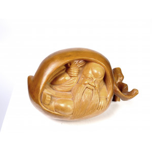 Boxwood Netsuke God of...