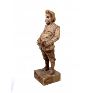 Sancho Panza Sculpture by Ouro
