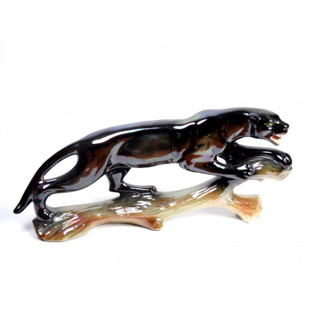 Large Panther Figure by Jema Holland