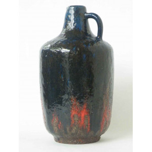Ceramano Vase Incrusta