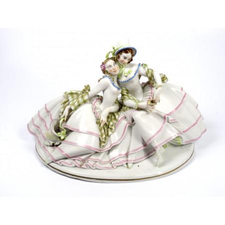 Aelteste Volkstedt Large Porcelain Figural Group